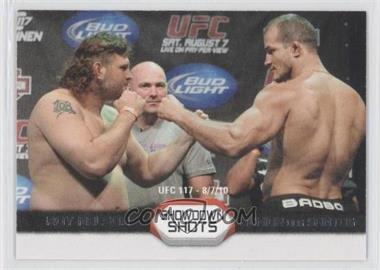 2011 Topps UFC Moment of Truth - Showdown Shots Duals #SS-ND - Roy Nelson, Junior Dos Santos