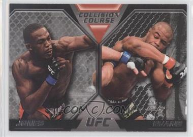 2011 Topps UFC Moment of Truth [???] #CC-JE - Jon Jones, Rashad Evans