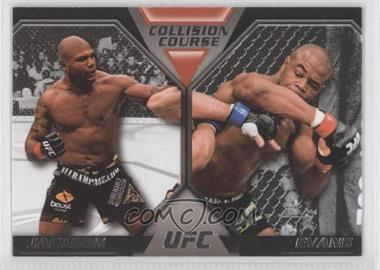 2011 Topps UFC Moment of Truth [???] #CC-JE - Quinton Jackson, Rashad Evans
