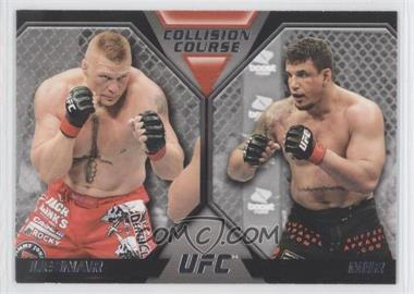 2011 Topps UFC Moment of Truth [???] #CC-LM - Brock Lesnar, Frank Mir