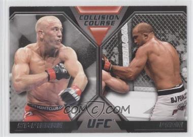 2011 Topps UFC Moment of Truth [???] #CC-SP - Georges St-Pierre, BJ Penn