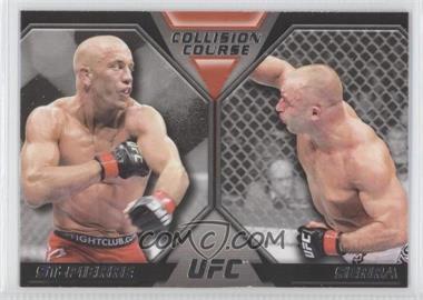 2011 Topps UFC Moment of Truth [???] #CC-SS - Georges St-Pierre, Matt Serra