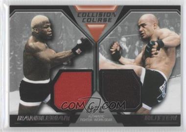 2011 Topps UFC Moment of Truth [???] #CCDR-RR - Kevin Randleman, Bas Rutten