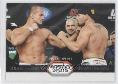 2011 Topps UFC Moment of Truth [???] #SS-DC - Junior Dos Santos, Shane Carwin