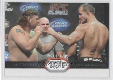 2011 Topps UFC Moment of Truth [???] #SS-ND - Roy Nelson, Junior Dos Santos