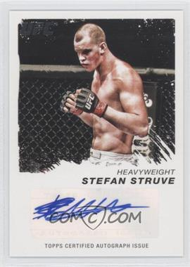2011 Topps UFC Moment of Truth Certified Signatures #CS-SST - Stefan Struve