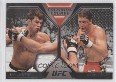 2011 Topps UFC Moment of Truth Colission Course Duals #CC-GB - Forrest Griffin, Stephan Bonnar
