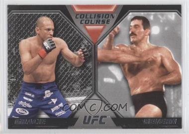 2011 Topps UFC Moment of Truth Colission Course Duals #CC-GS - Royce Gracie, Dan Severn