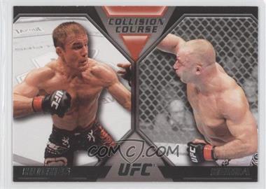 2011 Topps UFC Moment of Truth Colission Course Duals #CC-HS - Matt Hughes, Matt Serra