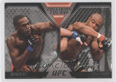 2011 Topps UFC Moment of Truth Colission Course Duals #CC-JE - Jon Jones, Rashad Evans