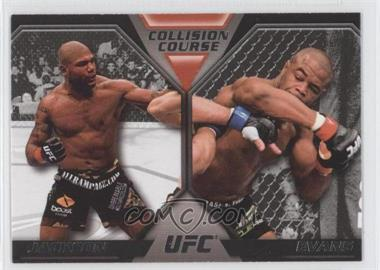 2011 Topps UFC Moment of Truth Colission Course Duals #CC-JE - Quinton Jackson, Rashad Evans