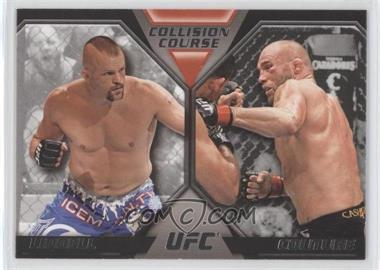 2011 Topps UFC Moment of Truth Colission Course Duals #CC-LC - Chuck Liddell, Randy Couture