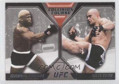 2011 Topps UFC Moment of Truth Colission Course Duals #CC-RR - Kevin Randleman, Bas Rutten