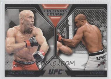 2011 Topps UFC Moment of Truth Colission Course Duals #CC-SP - Georges St-Pierre, BJ Penn