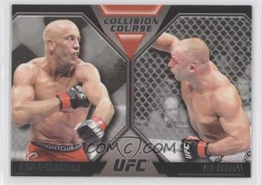2011 Topps UFC Moment of Truth Colission Course Duals #CC-SS - Georges St-Pierre, Matt Serra