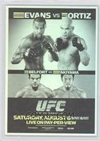 UFC133 (Rashad Evans, Tito Ortiz, Vitor Belfort, Yoshihiro Akiyama)