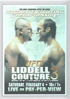 UFC57 (Chuck Liddell, Randy Couture)