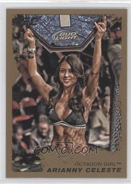 2011 Topps UFC Moment of Truth Gold #118 - Arianny Celeste