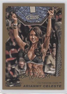 2011 Topps UFC Moment of Truth Gold #118 - Arianny Celeste