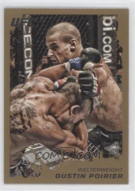 2011 Topps UFC Moment of Truth Gold #194 - Dustin Poirier