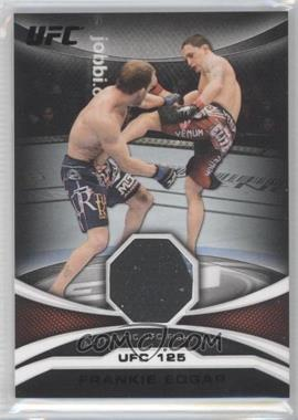 2011 Topps UFC Moment of Truth Mat Relic Onyx #MTMR-FE - Frankie Edgar /88