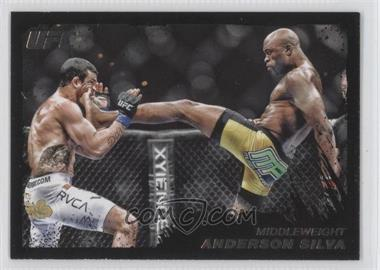 2011 Topps UFC Moment of Truth Onyx #165 - Anderson Silva /88