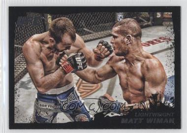 2011 Topps UFC Moment of Truth Onyx #168 - Matt Wiman /88