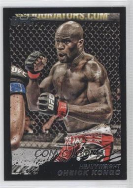 2011 Topps UFC Moment of Truth Onyx #191 - Cheick Kongo /88