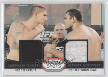 2011 Topps UFC Moment of Truth Showdown Shots Dual Relics #SSDR-SG - [Missing]