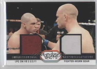 2011 Topps UFC Moment of Truth Showdown Shots Dual Relics #SSDR-SK - [Missing]