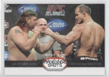 2011 Topps UFC Moment of Truth Showdown Shots Duals #SS-ND - Roy Nelson, Junior Dos Santos