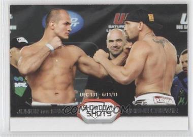 2011 Topps UFC Moment of Truth Showdown Shots #SS-DC - Junior Dos Santos, Shane Carwin