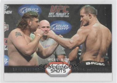 2011 Topps UFC Moment of Truth Showdown Shots #SS-ND - Roy Nelson, Junior Dos Santos