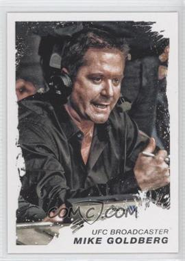 2011 Topps UFC Moment of Truth #28 - Mike Goldberg