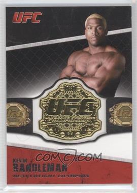 2011 Topps UFC Title Shot - Championship Belt Plate Relic #CB-KR - Kevin Randleman