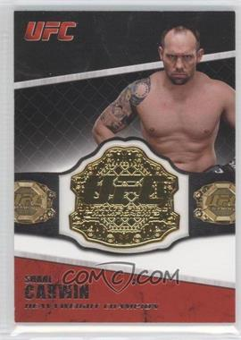 2011 Topps UFC Title Shot - Championship Belt Plate Relic #CB-SC - Shane Carwin
