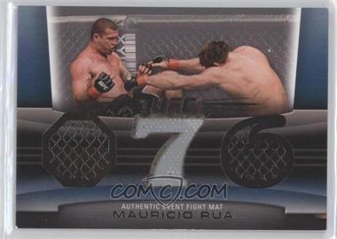"2011 Topps UFC Title Shot - Fight Mat Relic - Silver #FM-MR - Mauricio ""Shogun"" Rua /88"