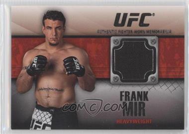 2011 Topps UFC Title Shot - Fighter Relics - Black #FR-FM - Frank Mir /88