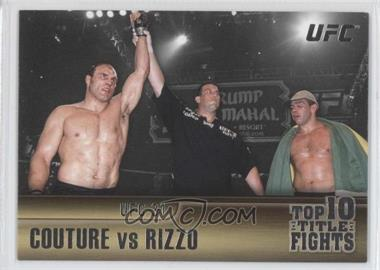 2011 Topps UFC Title Shot - Top 10 Title Fights #TT-9 - Randy Couture, Pedro Rizzo