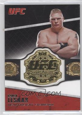 2011 Topps UFC Title Shot Championship Belt Plate Relic #CB-BL - Brock Lesnar
