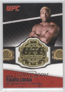 2011 Topps UFC Title Shot Championship Belt Plate Relic #CB-KR - Kevin Randleman