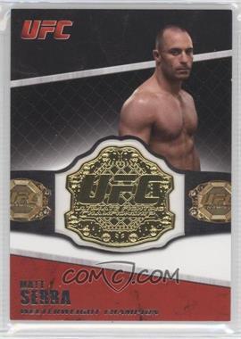 2011 Topps UFC Title Shot Championship Belt Plate Relic #CB-MS - Matt Serra