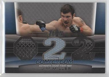 2011 Topps UFC Title Shot Fight Mat Relic Silver #FM-JM - Jim Miller /88