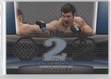 2011 Topps UFC Title Shot Fight Mat Relic Silver #FM-JM - Jim Miller /88