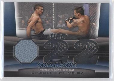 2011 Topps UFC Title Shot Fight Mat Relic #FM-CO - Charles Oliveira