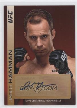 2011 Topps UFC Title Shot Fighter Autographs #FA-JH - Jared Hamman