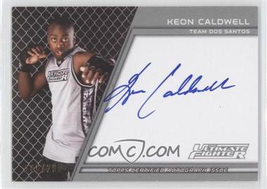 2011 Topps UFC Title Shot The Ultimate Fighter Autographs #TUF-KC - Keon Caldwell /200