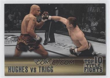 2011 Topps UFC Title Shot Top 10 Title Fights #TT-1 - [Missing]