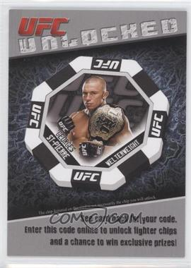 2011 Topps UFC Title Shot Unlocked #GEST - Georges St-Pierre