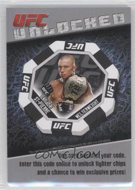 2011 Topps UFC Title Shot Unlocked #GSP - Georges St-Pierre